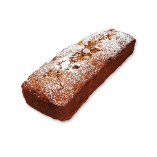product banana hazelnut loaf